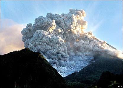 Vulcano Mount Merapi 2010 Eruption Goesty S Junction Blog