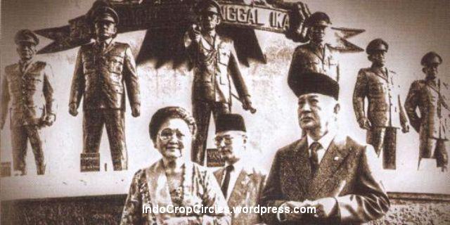 suharto ibu tien patung 7 jenderal lubang buaya